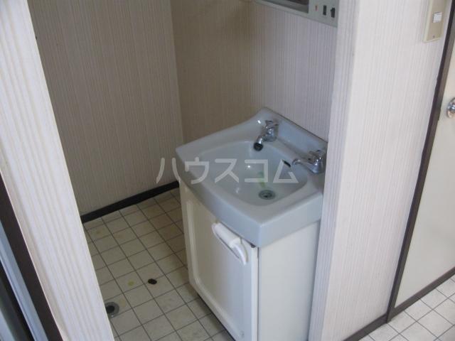 パナハイツ松村B 18号室の洗面所