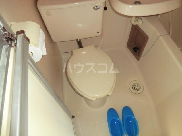 豊島ハイツ 208号室のトイレ