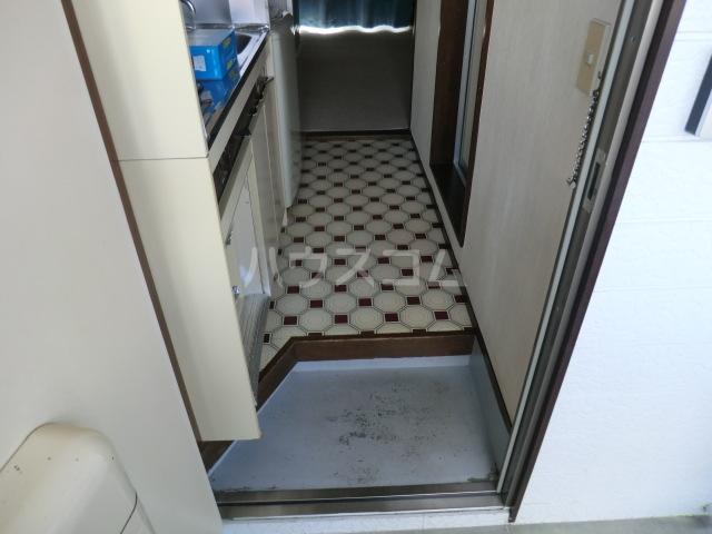 豊島ハイツ 208号室の玄関