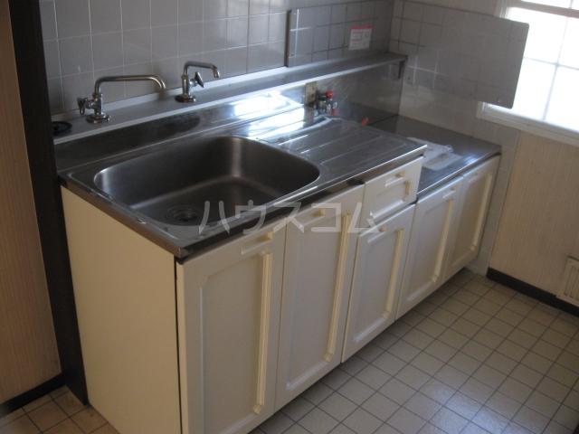 パナハイツ松村A 6号室のキッチン