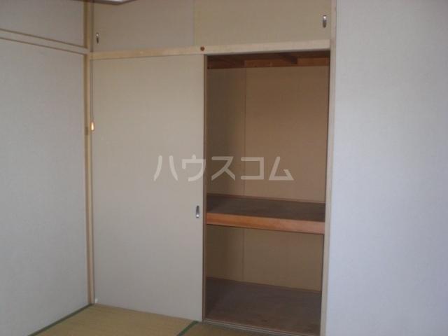 パナハイツ松村A 6号室の収納