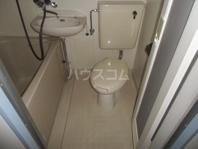 CENTURY21 104号室のトイレ
