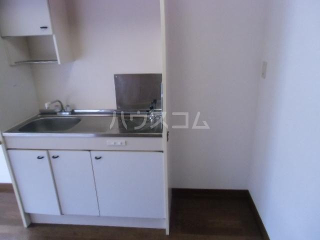 ハピネスツカモト 102号室のキッチン