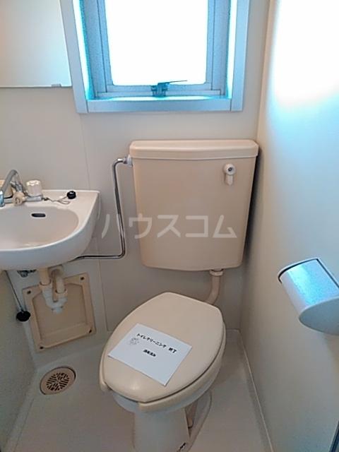 リミクス綾瀬 601号室のトイレ