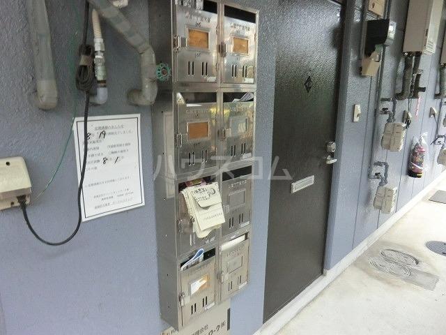 グリーンスクウェア 203号室のセキュリティ