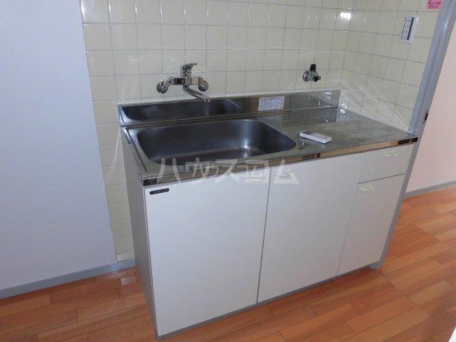 プチメゾントレド 201号室のキッチン