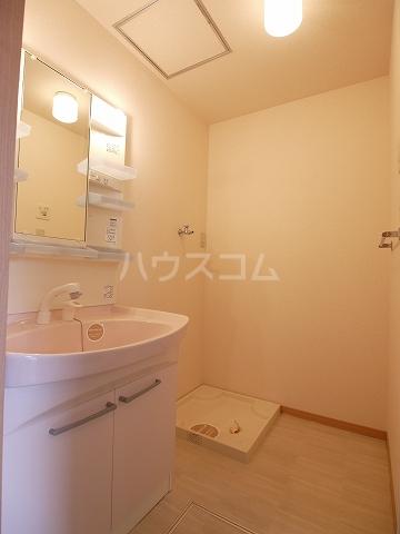 朱の里 101号室の洗面所