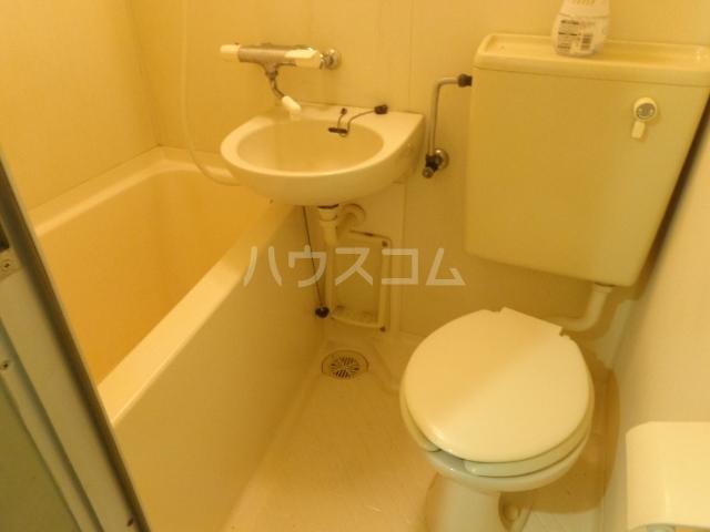 タマイハウス5 G号室のトイレ