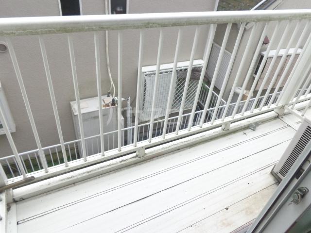 タマイハウス5 J号室のバルコニー