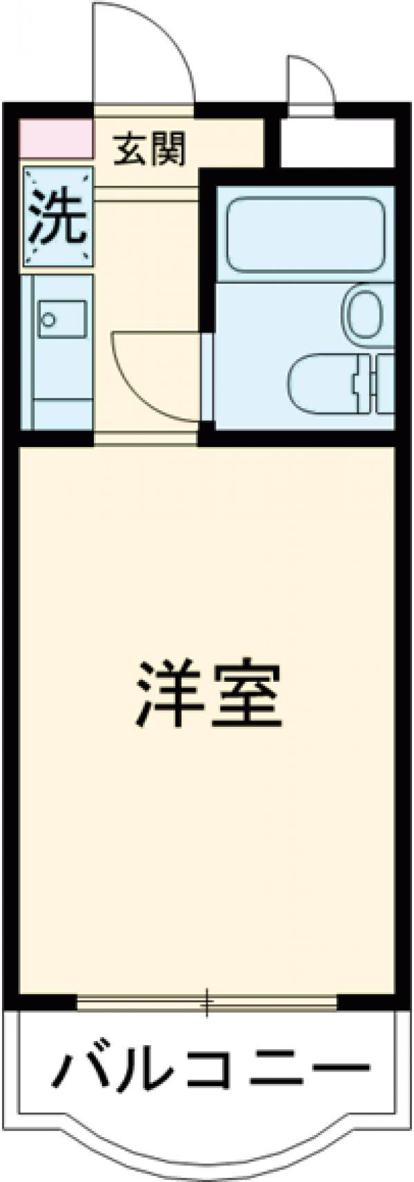 モナークマンション大岡山・103号室の間取り