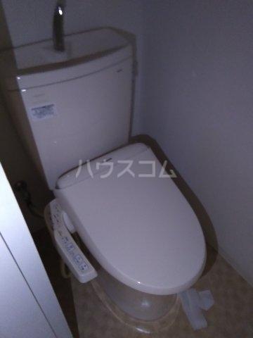 横山マンション 201号室のトイレ