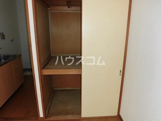 コーポ栄 110号室の収納