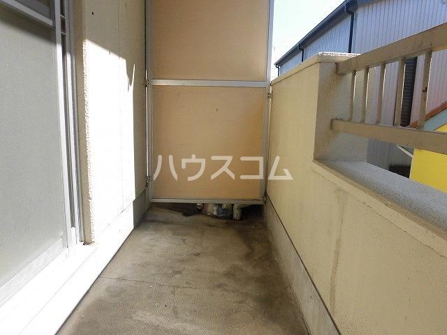 コーポ栄 209号室のバルコニー