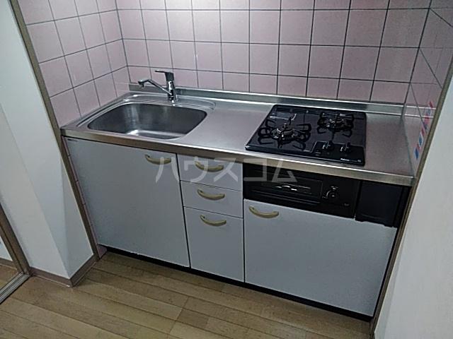ウインズ洗足池 101号室のキッチン