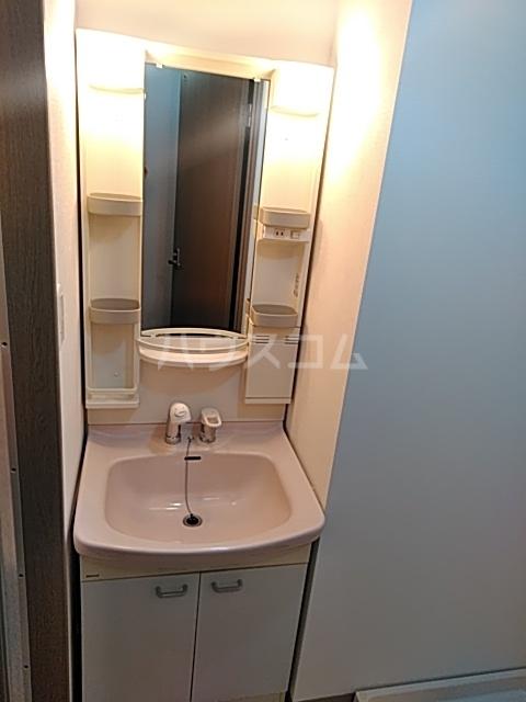 ウインズ洗足池 101号室の洗面所