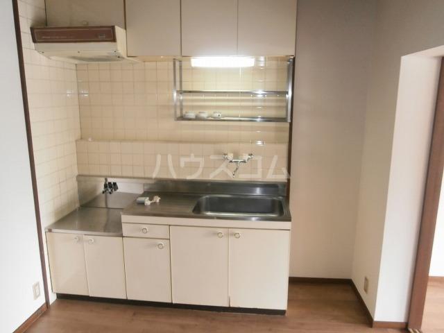 サンライズベル 404号室のキッチン