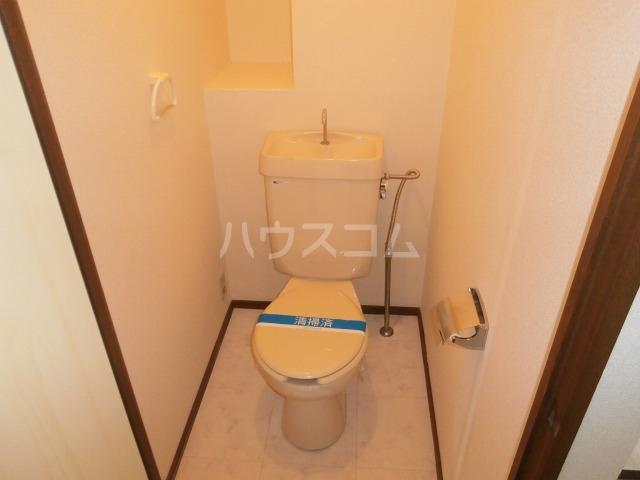 サンライズベル 404号室のトイレ