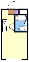 佐藤ハウス 103号室の間取り