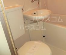 筑波ハイツ 201号室のトイレ