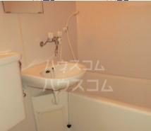筑波ハイツ 201号室の洗面所