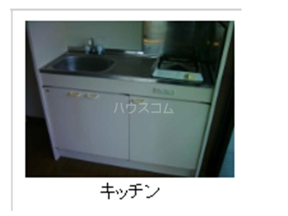 BLD T&T 301号室のキッチン