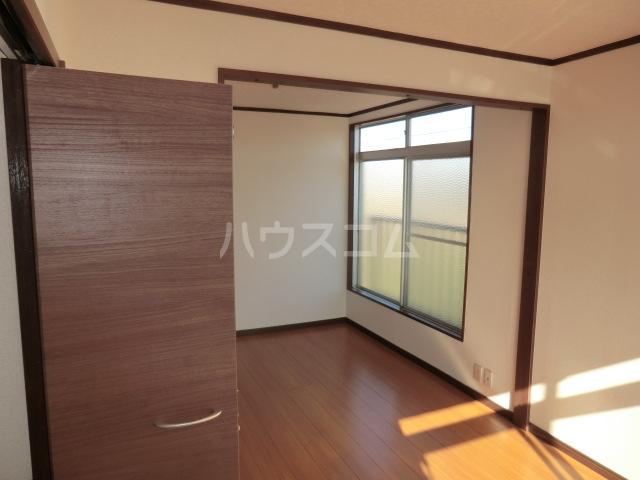 コーポ青山 2-1号室のベッドルーム