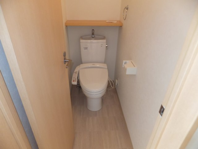 パレッタ堀之内のトイレ