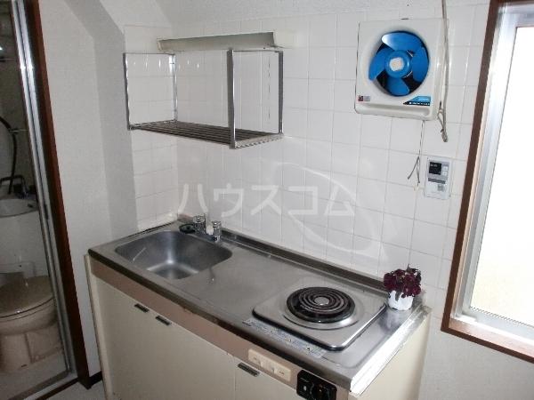パストラル奥沢 201号室のキッチン
