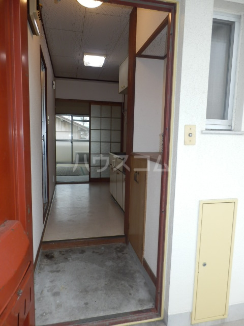 ペンションモリ 302号室の玄関
