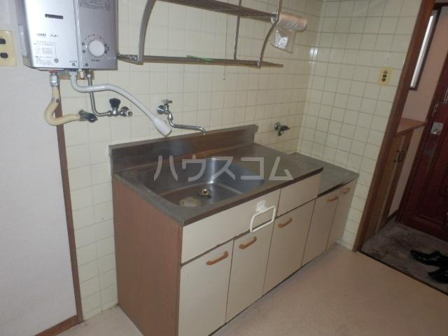 ペンションモリ 302号室のキッチン