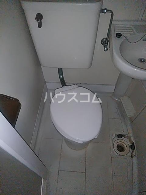 レオパレス用賀 102号室のトイレ
