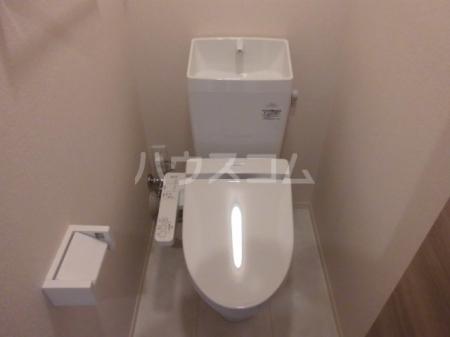 ボナール・T 201号室のトイレ