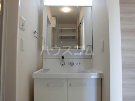 ボナール・T 201号室の洗面所