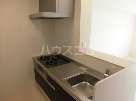 ボナール・T 201号室のキッチン