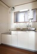 ウィンビル 402号室のキッチン