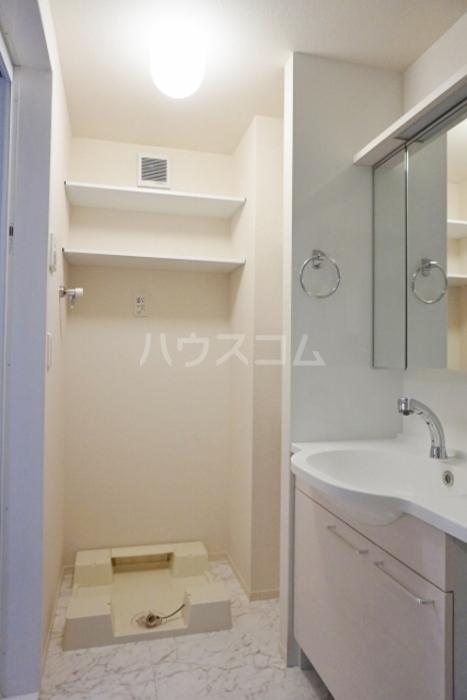 グランドソレイユ久保田 302号室の洗面所