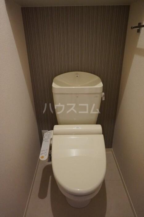 グランドソレイユ久保田 302号室のトイレ
