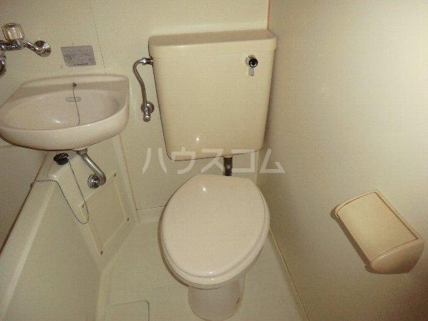 コーポ千暁 203号室のトイレ