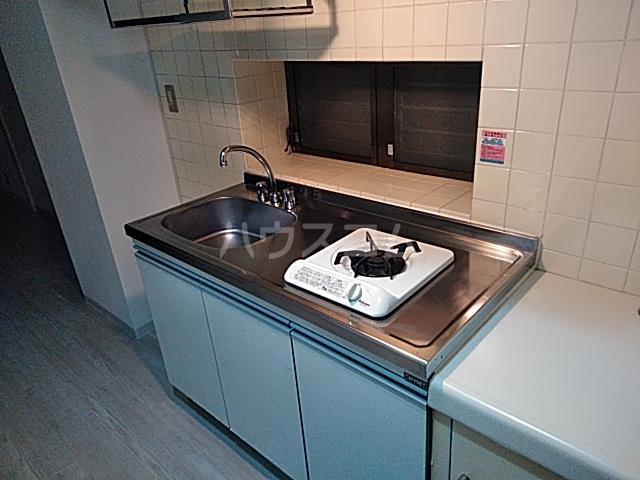 ハイガーデン洗足池 106号室のキッチン