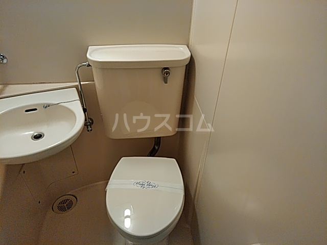 ハイガーデン洗足池 106号室のトイレ