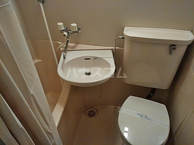 ハイガーデン洗足池 106号室の洗面所