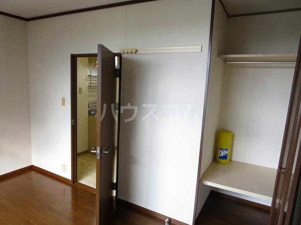 國恵ハイツA棟 201号室の収納