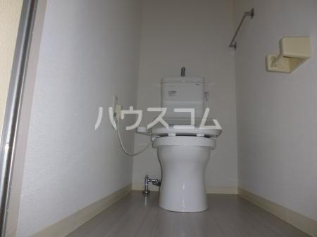プレジール多度 M1 202号室のトイレ