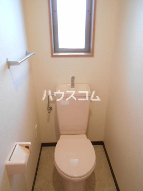 クアトロロッソのトイレ