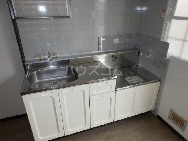 第五幸永ハイツ 202号室のキッチン