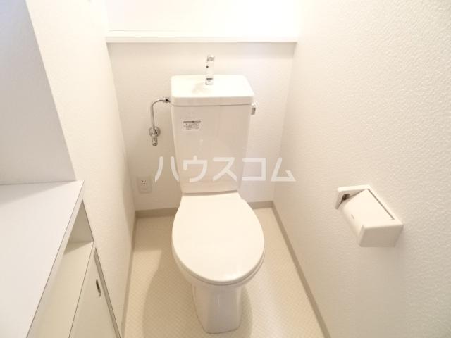 グランドハイム東中島 401号室のトイレ