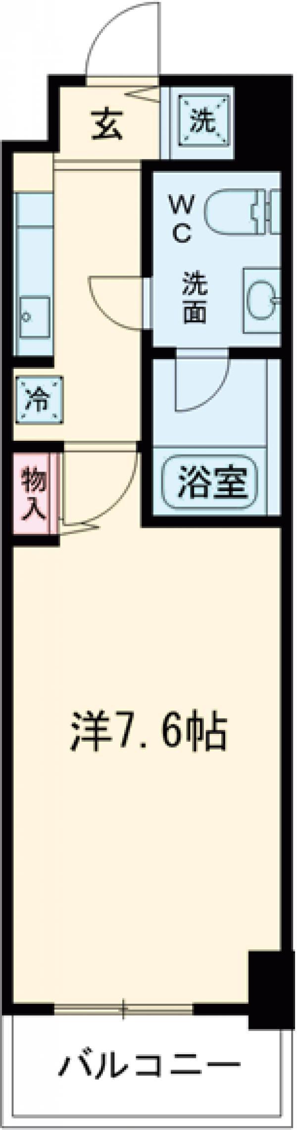 ミュプレ練馬桜台・202号室の間取り