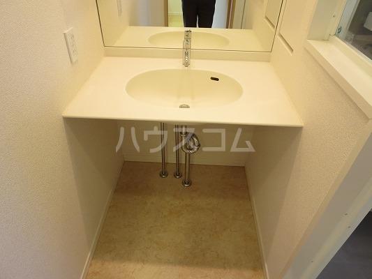 ユニテ・ド・ブラン 501号室の洗面所