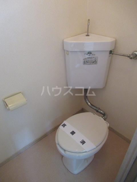 第二幸永ハイツ 201号室のトイレ