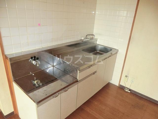 リバーパークマンション 302号室のキッチン